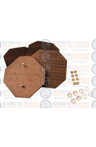Rubber Arm Pad Kit (4) | BH-7225-01-4 | Challenger 11052