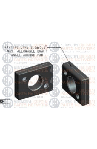 PLASTIC GUIDE BLOCK 2-2725