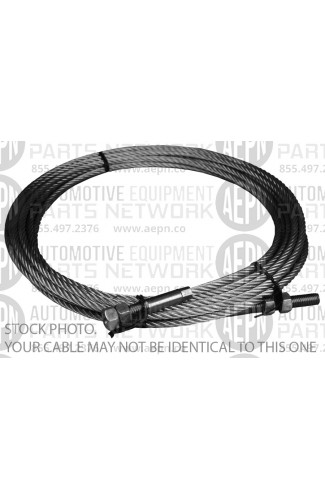 "Cable, Lifting 376"" lg (left-frnt) 