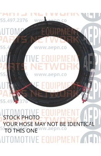 """Hydraulic Hose to Power Unit 69-1/2"""" w/90? 