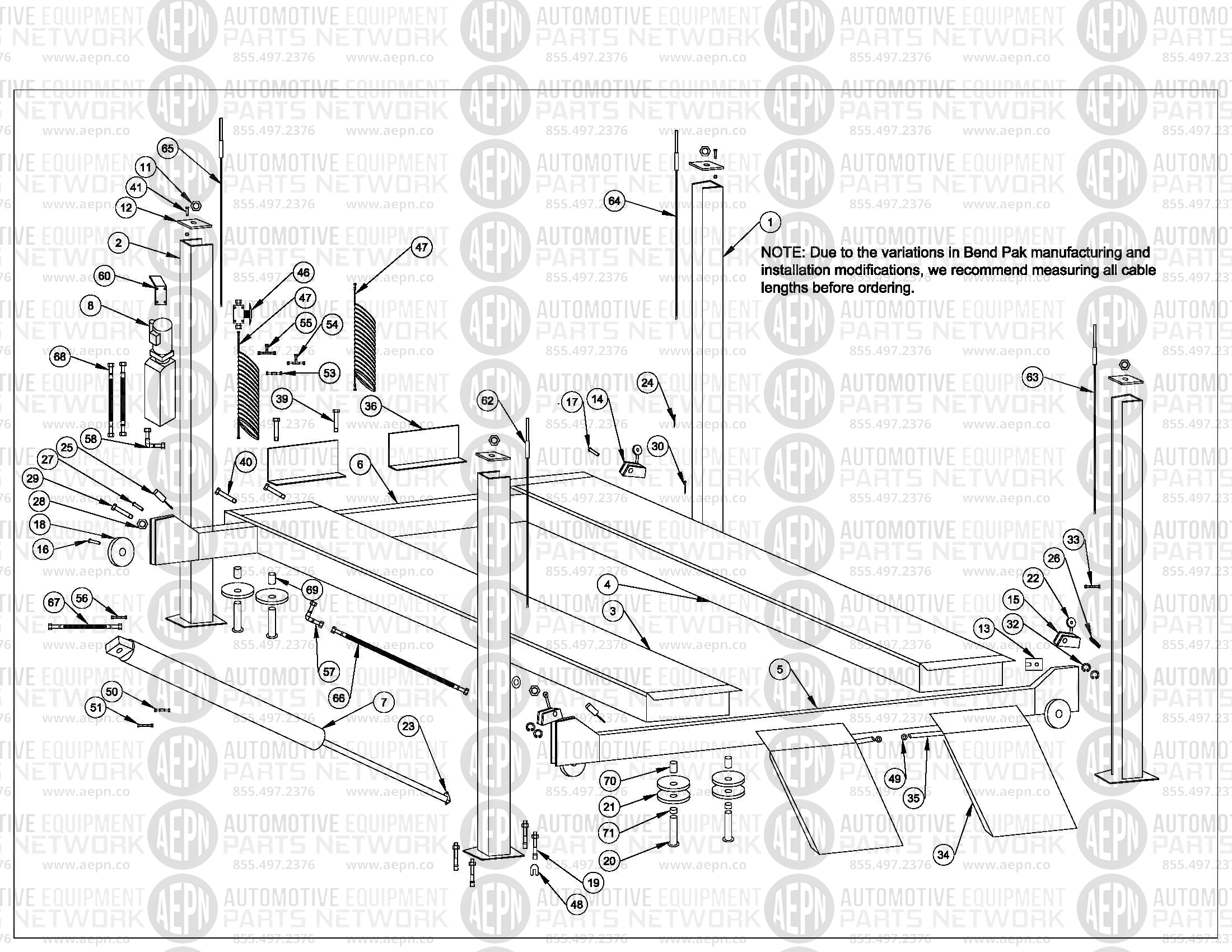 Bendpak Parts Lift Wiring Diagram Bend Pak Hd12x Breakdown Car Lifts Forward Imageresizertoolcom