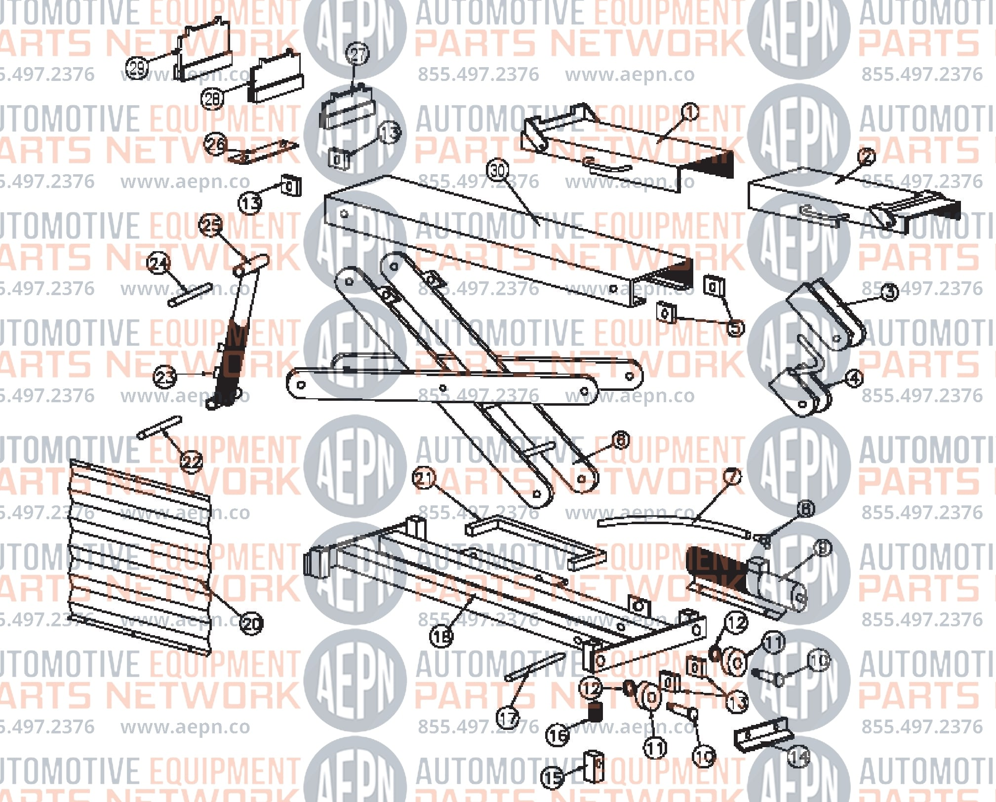 rotary fc5655 parts breakdown 2006 f150 front bumper parts diagram rotary phone parts diagram #28