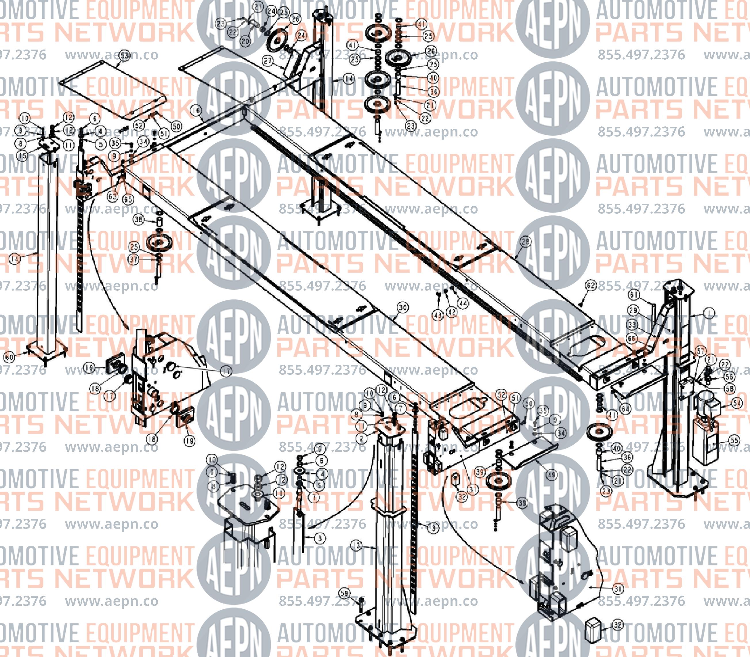 JOHN BEAN EELR507A Parts BreakdownAutomotive Equipment Parts Network