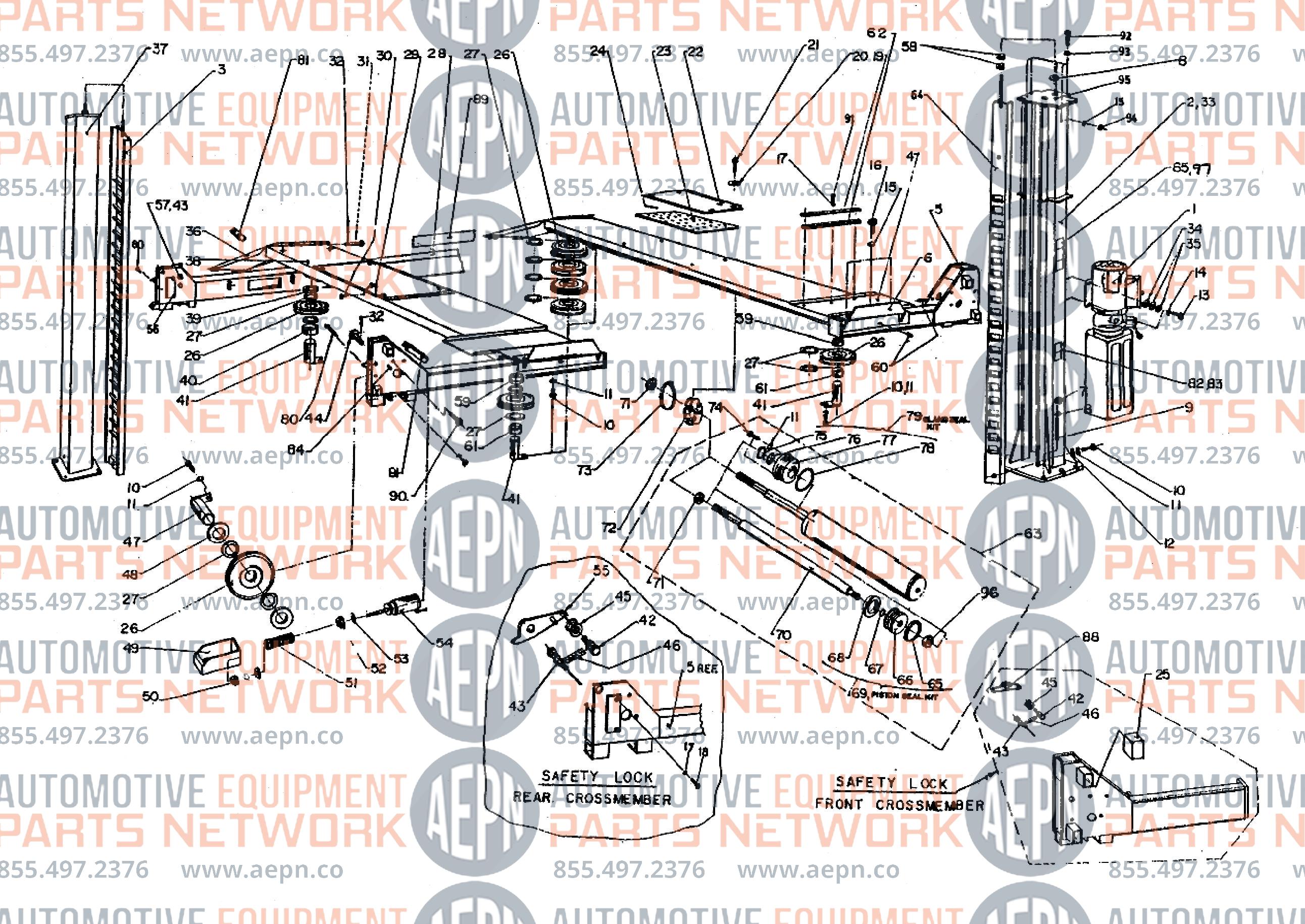 JOHN BEAN 44214Q Parts BreakdownAutomotive Equipment Parts Network